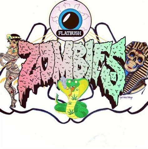 13 Flatbush Zombie Font Images New York And