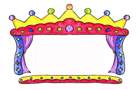 play theater stage clip art puppet theater clipart