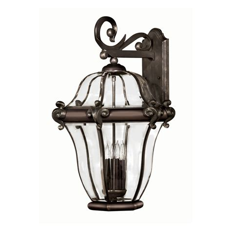 big outdoor lights 2446cb x large outdoor wall light san clemente copper