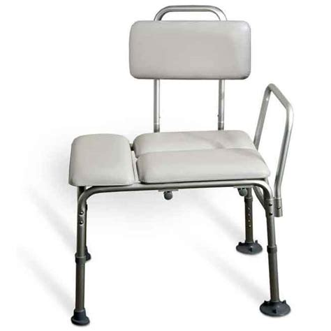 padded tub bench amg padded tub transfer bench w suction cups hme