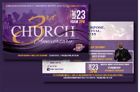 free church templates for flyers