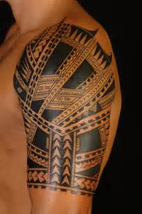 half sleeve tribal tattoo design tattoobite com