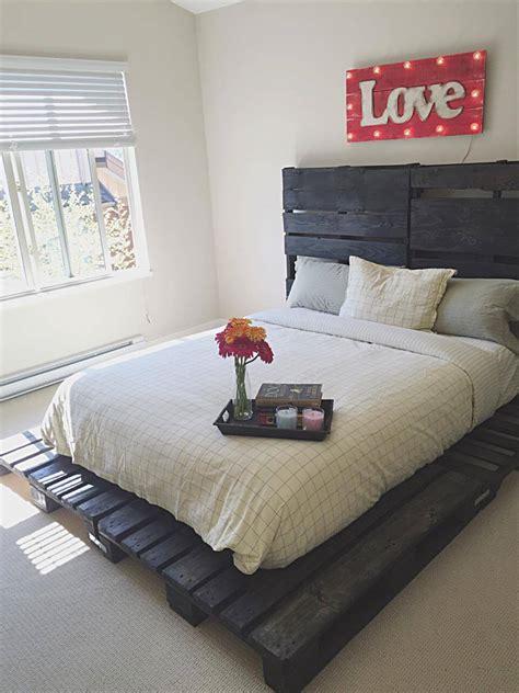 wooden pallet bed    pallets pallets pro