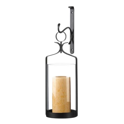 hanging hurricane glass wall sconce wholesale at koehler - Hanging Wall Sconce