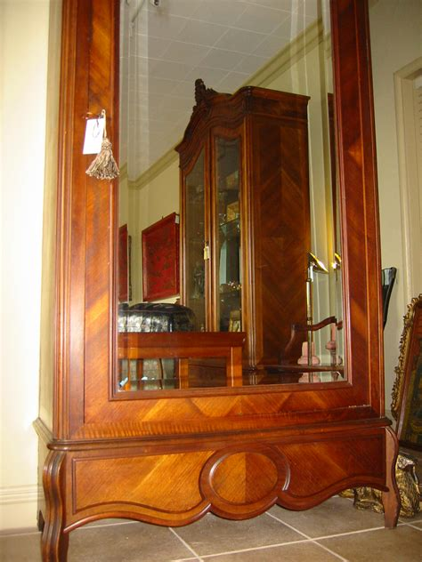 mirrored armoire for sale french mahogany walnut wood mirror armoire for sale antiques com classifieds