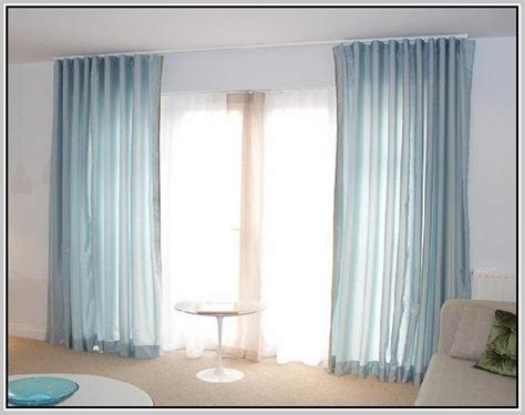 over door curtain rail 13 best layered ripplefold window treatments images on