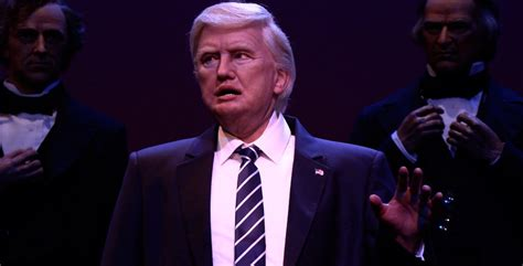 donald trump hall of presidents hall of presidents featuring president trump now open at