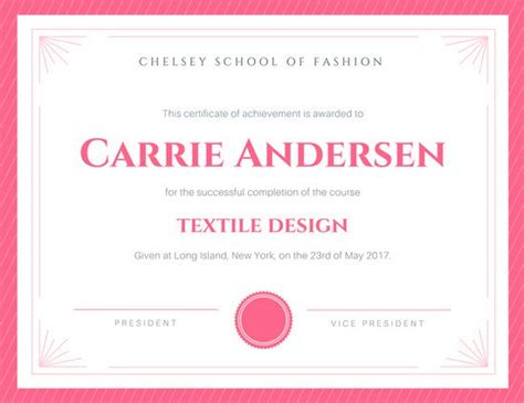 canva certificate customize 101 achievement certificate templates online