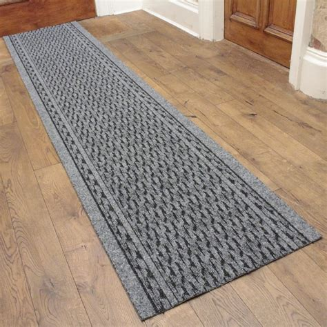 Floor Runner Rugs Rumba Grey Hallway Commercial Barrier Mat Runner From Carpet Runners Uk Uk