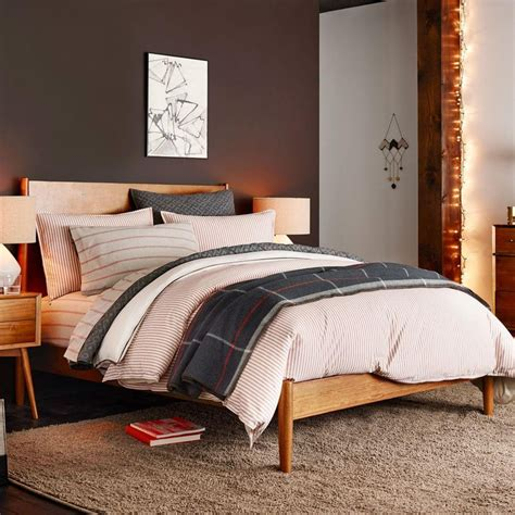 west elm bed mid century bed acorn west elm au