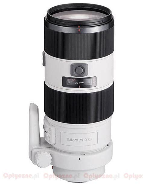 Lensa Sony Sal 70 200mm F 2 8 lenstip lens review lenses reviews lens specification lenstip
