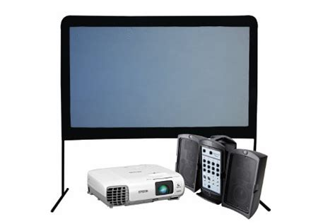Lcd Touchscreen Mito A250 Frame deluxe package projector screen pa system with microphone utah projectors