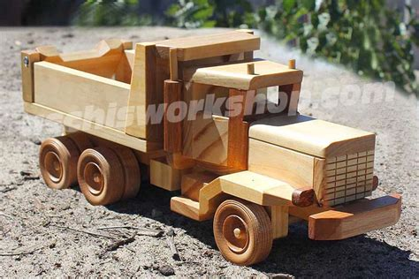 toin plans  wood toy trucks