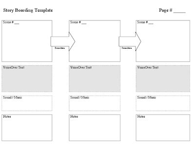 storyboard free sle exle format digital storyboard template teacheng us