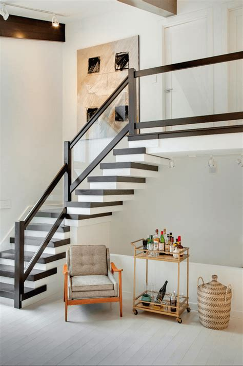 amazing mid century modern staircase design ideas