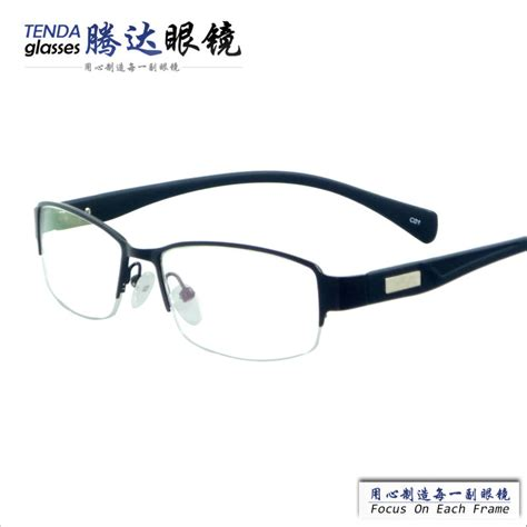 New Arrival Glasses 1942 new arrival fashion half cheap alloy glasses frames with prescription glasses in eyewear