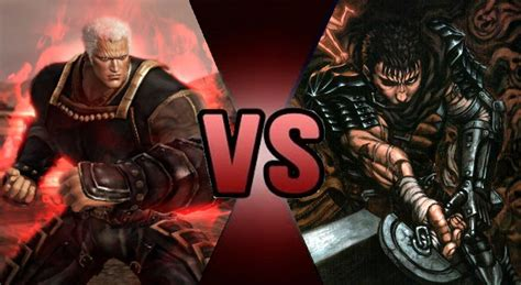 Lu Hid Beat battle prelude raoh vs guts by gokuvssuperman117