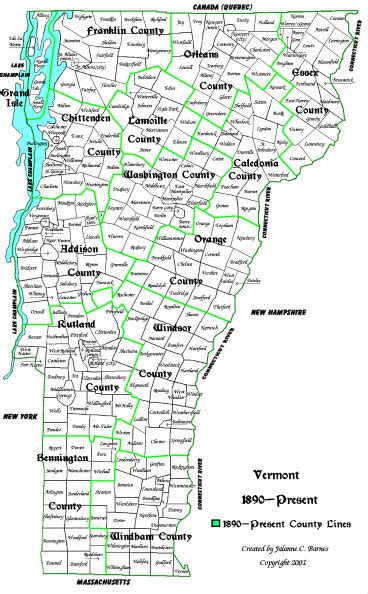 vt map vermont facts and symbols