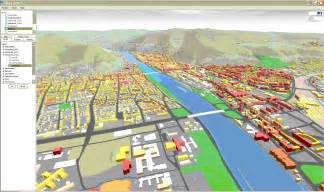 City Of Gis Heidelberg 3d Interactive 3d City Mapping Based On Ogc