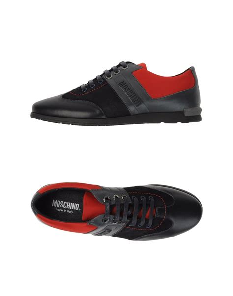 moschino sneakers mens moschino footwear sneakers shoe em