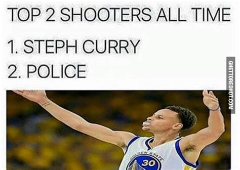 Steph Curry Memes - top 2 shooters ghetto red hot