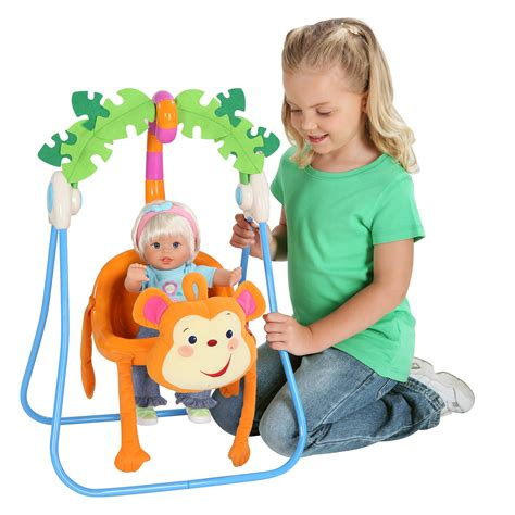 fisher price baby doll swing fisher price monkey swing baby doll accessories at hayneedle