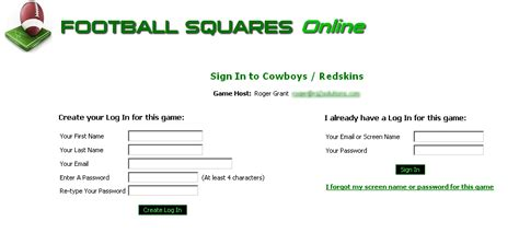 Office Football Pool Software Office Football Pool Login 28 Images Demo Tutorial