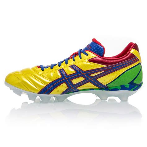 asics football shoes asics lethal flash ds 2 it mens football boots yellow