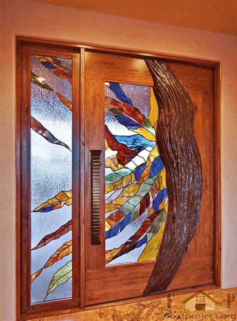 Stained Glass Interior Doors Glass Interior Doors Home Designs Project