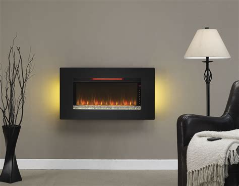 classicflame 36 in elysium infrared wall hanging electric
