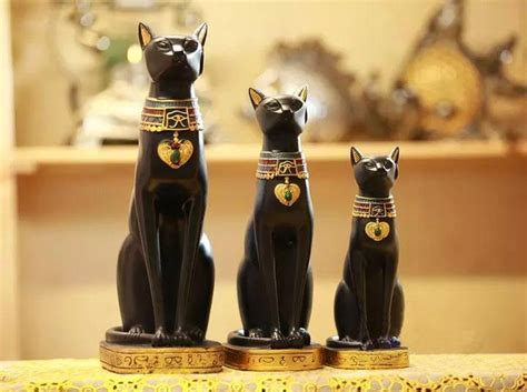 handicrafts home decorations abstract decoration european egypt cat god ornaments retro european wine cabinet