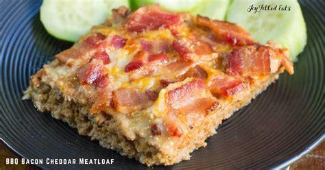 30345 bacon cheddar meatloaf jpg bbq bacon cheddar meatloaf joy filled eats