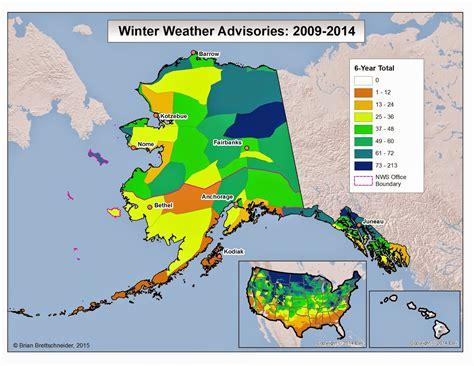 us temperature map alaska cold interior and northern alaska weather climate