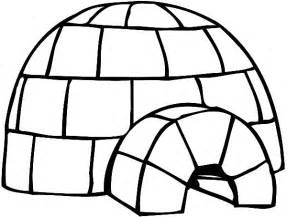 igloo coloring page free coloring pages of i is for igloo