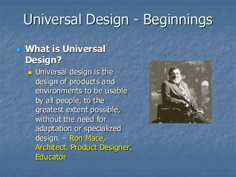 universal design meaning integrating universal design content into university