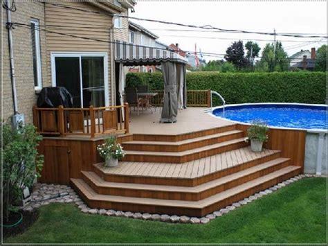 oval pool decks amazing patio deck for pool pool design