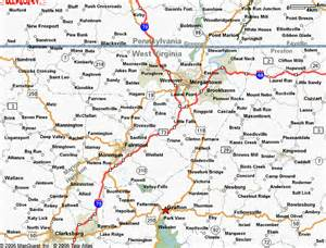 Galerry Reference Map of West Virginia