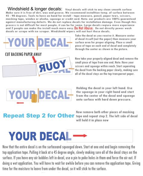 installing boat decals how to install a vinyl windshield decal