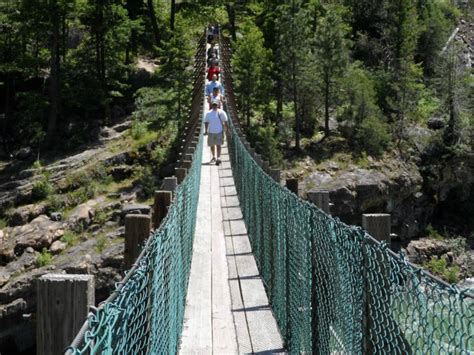kootenai falls swinging bridge kootenai falls lower kootenay band