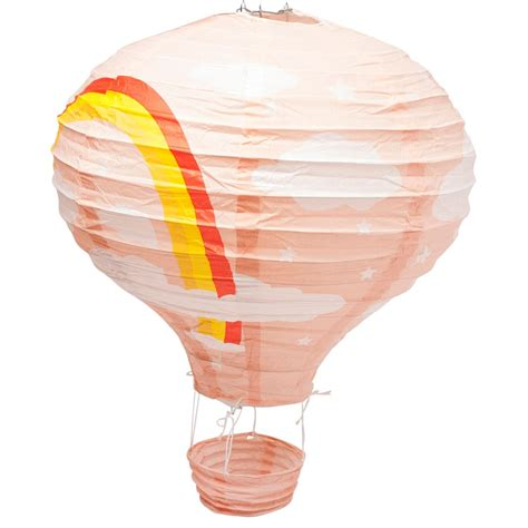 Air Balloon L Shade by 12 Quot Rainbow Air Balloon Paper Lshade Lantern Ceiling Light Shade Ebay