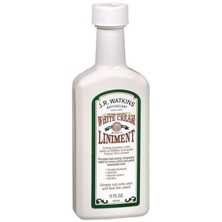 j.r. watkins white cream liniment | walgreens
