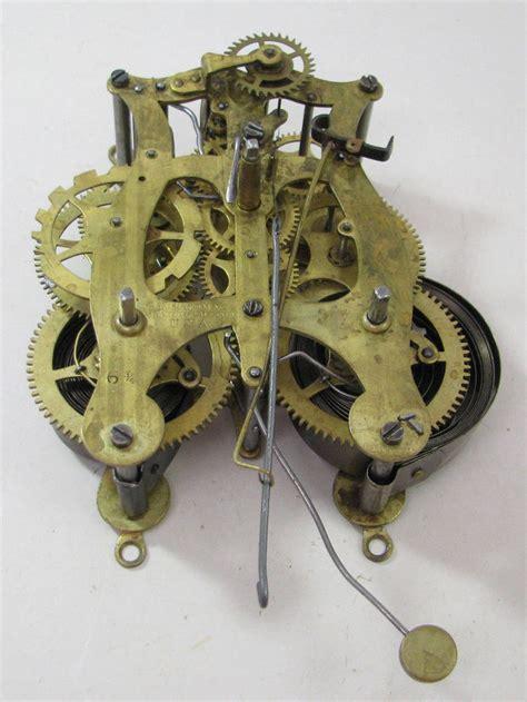 Antique L Parts by Antique Seth Shelf 6 3 4 Clock Movement