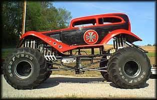 race cars history monster truck