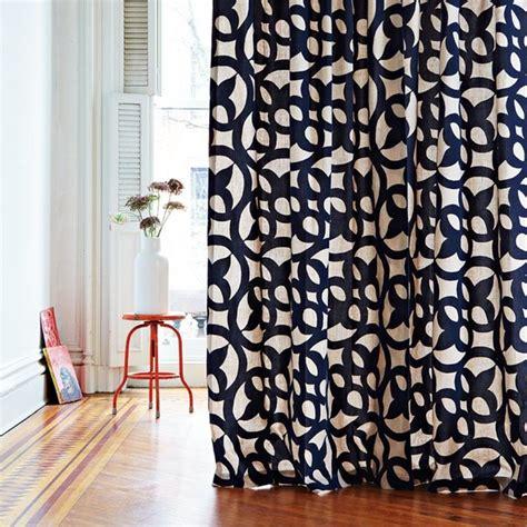 Ironwork Flocked Window Panel Contemporary Curtains