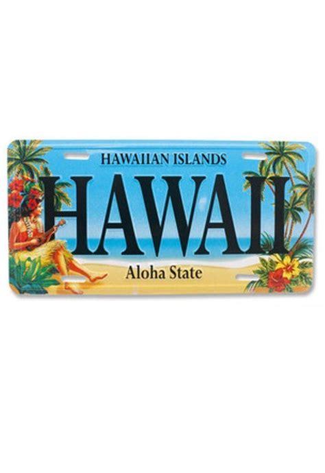 Vanity Plates Hawaii by Vintage Hawaii Hula Hawaiian Novelty License Plate Ebay