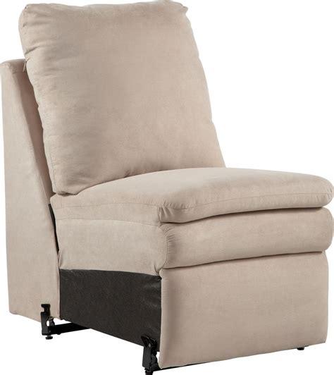 armless recliner devon armless recliner