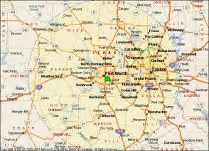 map fort worth area fort worth map