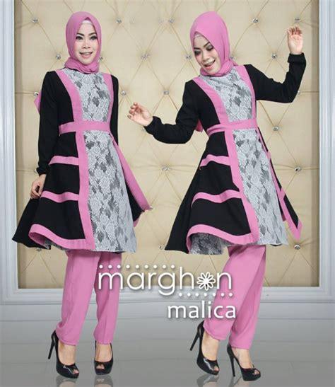 Motif Baju Muslim Terbaru contoh foto baju muslim modern terbaru 2016 contoh model baju muslim terbaru motif floral