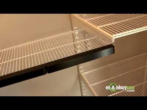 how to cut wire shelving closet organization completing installation of elfa closet system