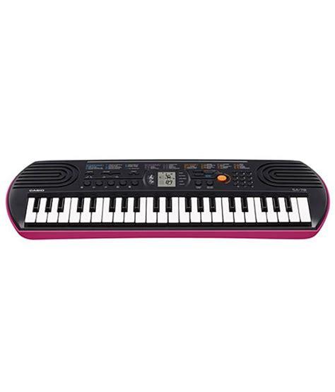 Keyboard Casio Mini Sa78 Adaptor Original Casio Sa78 44 Portable Keyboard With Adapter Buy